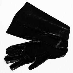 Portolano Long Stretch Velvet Gloves